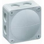 Image for Wiska Waterproof Box IP66 110x110x66 with 41A Terminals