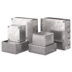 Image for Niglon Metal Adaptable Box 150X100X75mm Galvanised Finish No Knockouts