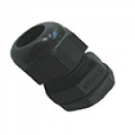 Image for SWA Cable Dome Gland 20mm IP68 Polyamide with Locknut Black Large Aperture