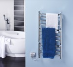 Image for Dimplex Compact Range CPTS 120W Bathroom Towel Rail IPX5 Rated with Towels
