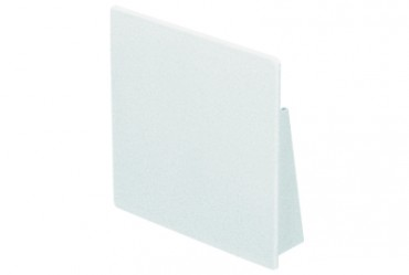 Image for Marshall Tufflex Maxi Trunking TECS!00/50 100X50mm Stop End Cap White
