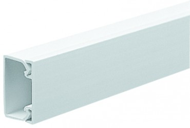 Image for Marshall Tufflex MMT2 25X16mm Mini Trunking White 3mtrs