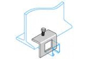 Image for Deligo Channel Unistrut Window Beam Clamp 41x41mm