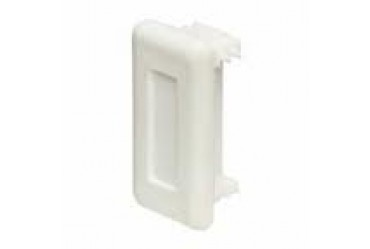 Image for Deligo Channel Unistrut End Cap 41x21mm White