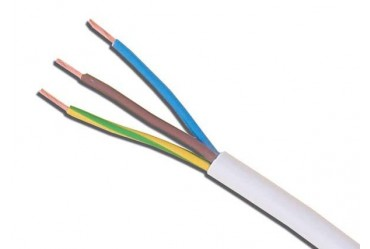 Image for Cable 3183Y 1mm 3 Core Pvc Flex White 100 Metres