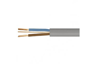 Image for Cable 6242Y 1.5mm Flat Twin and Earth PVC Grey Per 50 Metre Drum