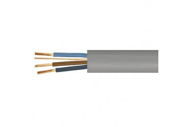 Image for Cable 6243Y 1mm 3 Core Plus Earth Flat Grey 50 Metres