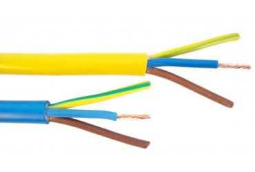 Image for Cable Arctic Yellow 2.5mm 3Core 110V 100 metres
