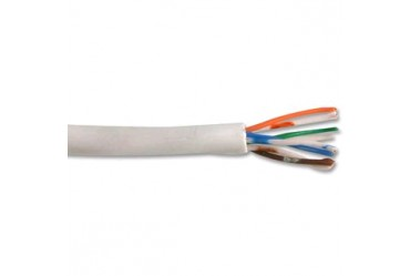 Image for Cable Telephone 4 Pair 8 Core White Per 100 Metre Drum