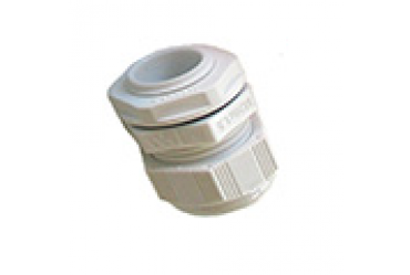 Image for SWA Cable Dome Gland 20mm IP68 Polyamide with Locknut White Small Aperture