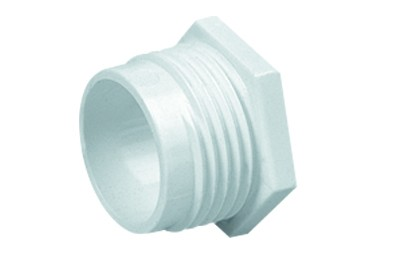 Marshall Tufflex MMB2 20mm Plastic PVC Male Bush Screwed White