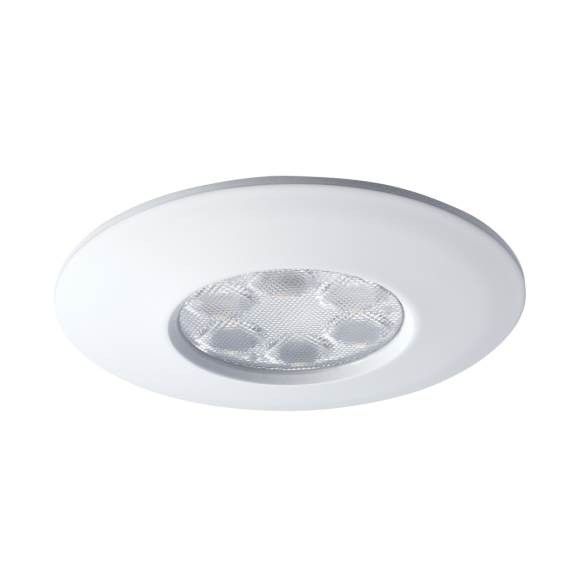 JCC Fireguard LED6 JC94474WH 6W 450Lm IP65 Non Dimmable Downlight Warm White 3000K White