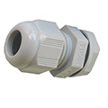 Polyamide Dome Top Compression Gland 32mm Grey IP68 Each