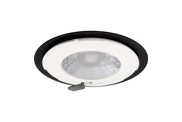 JCC V50 LED Downlight Dimmable 7W 650lm IP65 No Bezel
