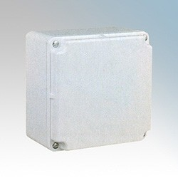 Marshall Tufflex MTAB150B White Plastic Adaptable Box Enclosure 150x150x75mm