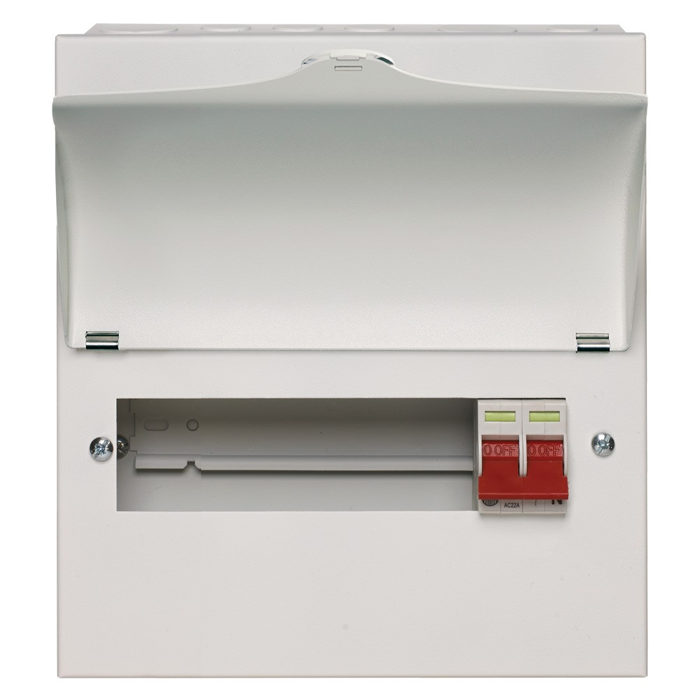 Wylex Nm806l 8 Way Consumer Unit Fast Uk Delivery Buy Now Wiring Up Rcd 100a Main Switch Metal