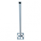 Image for MK Prestige Poles and Posts PPK1WHI Power Pole Extension Bar White