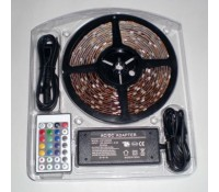 Image for AVSL 153.727UK Fluxia DIY LED Strip Light Kit 5 metres RGB Colour Changing IP65