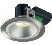Image for Collingwood Lighting Halers H5 500 Symmetric Range DL284BSWWDIM Brushed Steel Low glare fire rated LED down light Warm White
