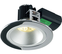 Image for Collingwood Lighting Halers H5 500 Symmetric Range DL284CRWWDIM Chrome Low glare fire rated LED down light Warm White