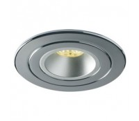 Image for Collingwood Lighting Halers H4 Range DLCONVERT98CR Chrome Converter Plate 63150mm Cut Out