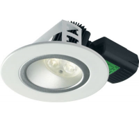 Image for Collingwood Lighting Halers H5 500 Asymmetric Range DL283WHNWDIM White Low glare fire rated LED down light Cool White