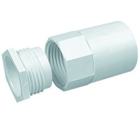 Image for Marshall Tufflex MAB4 Adaptor Plastic PVC 32mm White Female