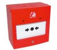 Image for C-Tec Two Wire Fire Alarm Call Point Red Twinflex