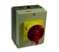 Image for Europa Rotary Isolator Switch 32A 4 Pole IP65