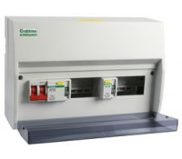 Image for Crabtree Starbreaker 408/2834634B 4+4 Way Consumer Unit Insulated 80A Rcd+63A Rcd