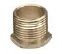 "Image for Niglon 1.5"" Male Brass Bush Short Reach"