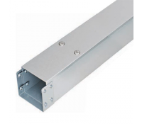 Image for Legrand Salamandre MGR44 Trunking Length 100x100mm 3Metres Pre Galvanised