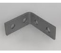Image for Deligo Channel Unistrut Bracket 90 Degree 2x2 Hole