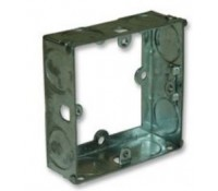 Image for Greenbrook Flush Metal Box Extension 1Gang 16mm Deep