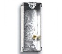 Image for Niglon Flush Metal Box 1 Gang 28mm Deep for Architrave Switch