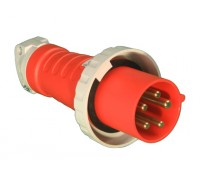 Image for Lewden PM63/608 Red Plug 63A 415V 3P+N+E 415V