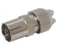 Image for Philex Aerial Coaxial Socket Ni-Brass