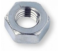 Image for Deligo Hexagon Full Nut M8 Bright Zinc Plated Sold Each