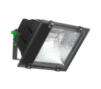 Image for Wirefield Floodlight 70Watt SON Lamp Black with Lamp