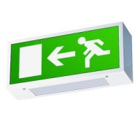 Image for Crompton Lighting Emergency Man Running Left Arrow Legend to fit AVEX8NM