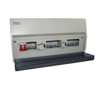 Image for Crabtree 13 Way Twin RCD High Integrity Split Load Unit