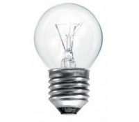Image for Bell Round 25w ES Clear Light Bulb