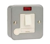 Image for Deta Metalclad Switch/Spur 13A Double Pole Fused