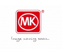 Image for MK Aspect K24305POCB 1 Gang Double Pole 32A Switch Neon Polished Chrome Black Insert