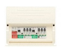 Image for MK Sentry K7664SP 8 Way Populated Split Load Consumer Unit Dual RCD
