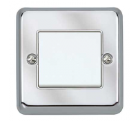 Image for MK Echo K4766BSS 1 Channel Transmitter Albany Brushed Stainless Steel