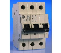 Image for Wylex NH Distribution Range PSB320-C MCB Triple Pole 20A 10kA Type C Curve