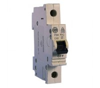 Image for Wylex NH Distribution Range PSB63-C MCB Single Pole 63A 6kA Type C Curve