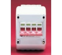 Image for Wylex Isolator Range REC4 100A Four Pole Isolator with 4 Module Enclosure