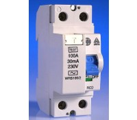 Image for Wylex Lifeline Range WRS100/2 RCD 100A 30mA Double Pole